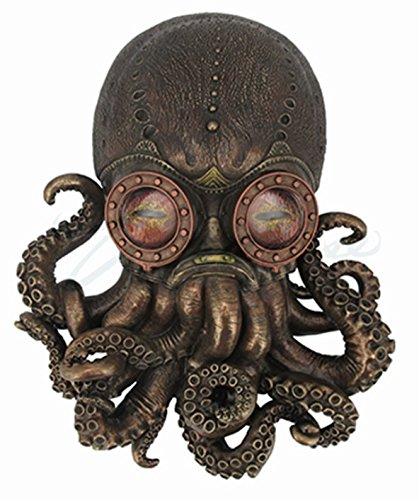 Octopus Wall Plaque Sculpture