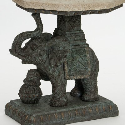 Elephant Outdoor Side Table