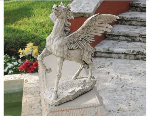 Pegasus Winged Flying Horse Sculpture