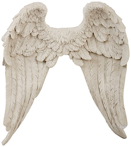 Heavenly Guardian Angel Wings Wall Sculpture