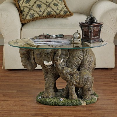 Cute Elephants Coffee Table