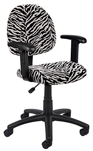 Cool Zebra Print Office Chair