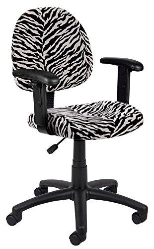 Cool Zebra Print Office Chair