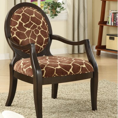 Giraffe Fabric Arm Chair