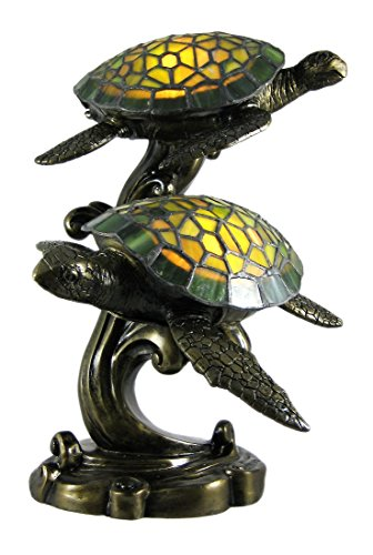 Swimming Sea Turtles Lamp