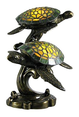 Swimming Sea Turtles Lamp
