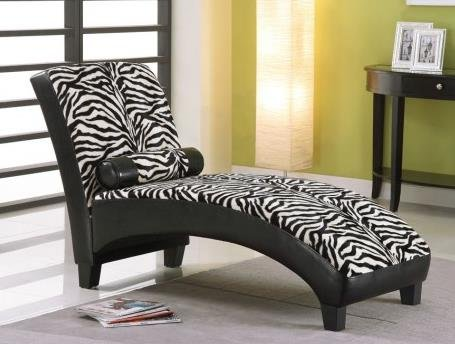 Cool Zebra Chaise