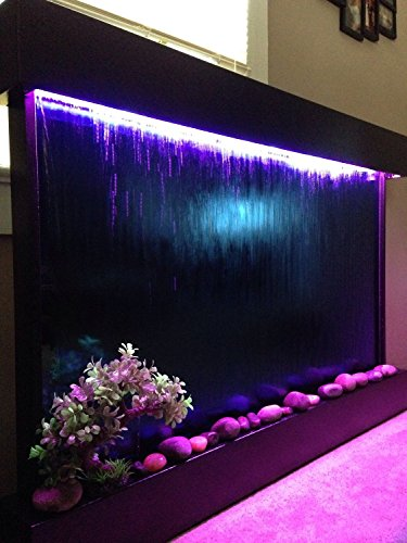 Extra Large Waterfall Indoor Fountain with Color Changing LED Lights