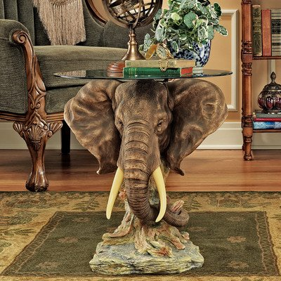 Gorgeous Elephant Table