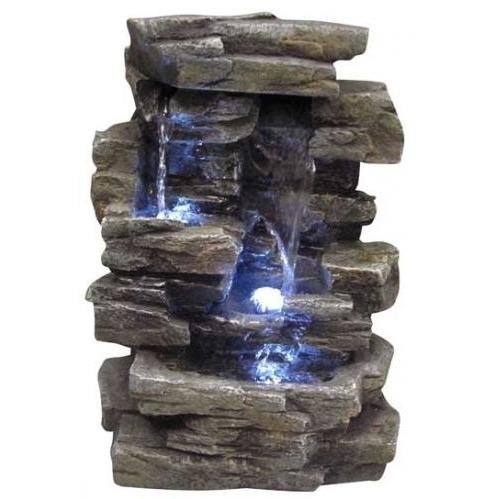 Cheap Tabletop Fountain w/ LED Lighting