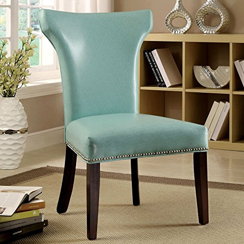 Modern Turquoise Side Chairs