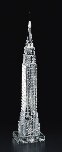 Large Crystal Statue of The Empire State Building