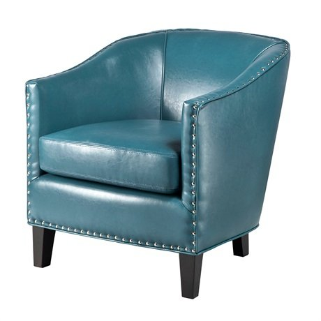 Retro Style Blue Chair
