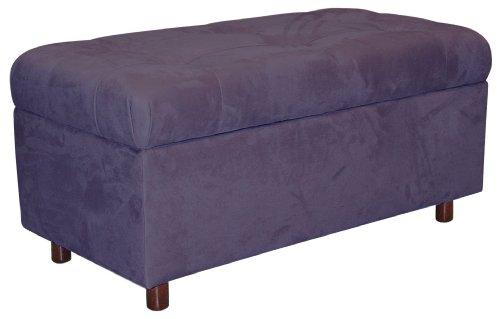Purple Storage Bench