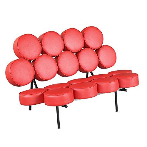 Cool Circle Sofa, Red