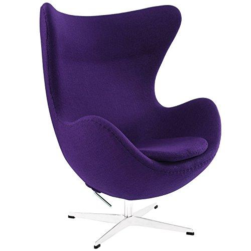 Retro Egg Chair PURPLE