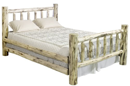 Full Size Log Bed for Sale
