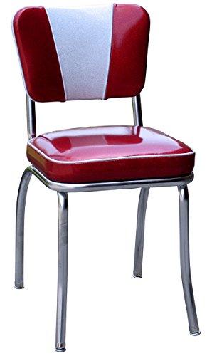 1950's Retro Chrome Diner Chair
