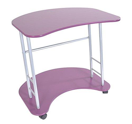 fun purple desk
