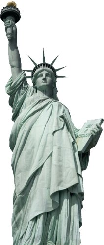 Large Statue of Liberty Wall Decal