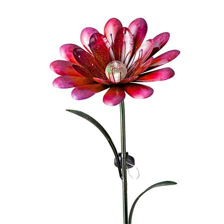 Solar Lighted Garden Iron Flower