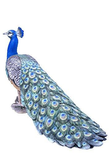 Peacock Garden Statue