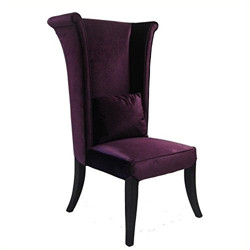 Purple Velvet Dining Chair