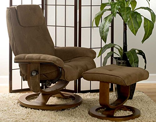 affordable recliner with massage and heat