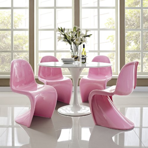Modern PINK Dining Chairs for Sale