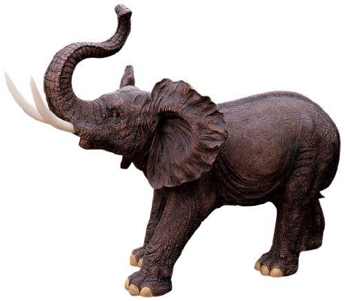 Large African Elephant Garden Statue