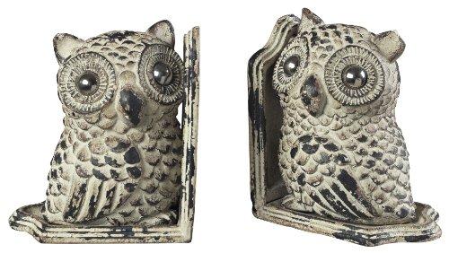 Cute Metal Owl Bookends