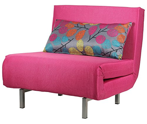 Pink Chair Bed