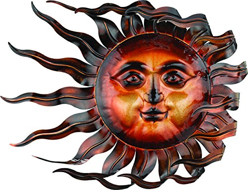 Windswept Sun Wall Decor