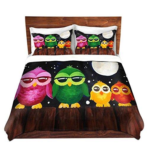 cute owl bedding