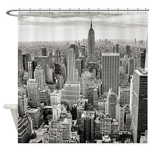 New York City Skyscrapers Shower Curtain