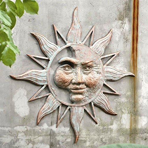 Gorgeous Metal Sun Plaques And Sun Faces For Your Wall