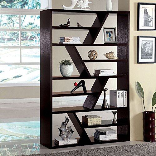 Zigzag Shelf Design Bookcase