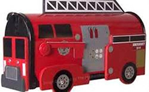 Fire Engine Mailbox