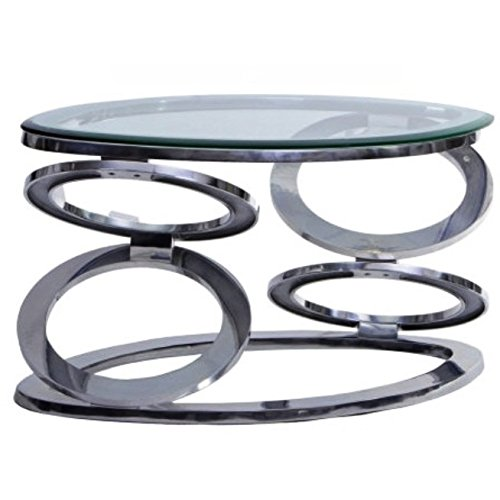 unique oval glass top coffee table