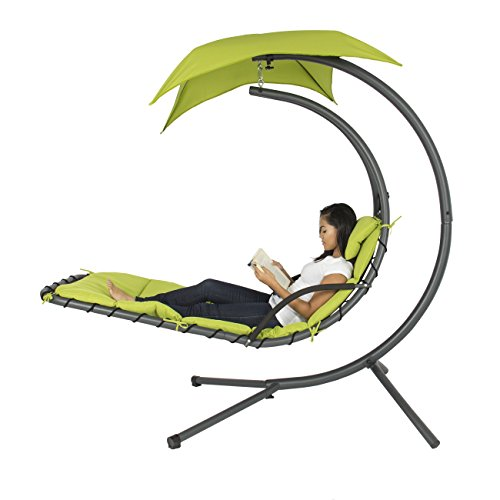 Comfy Hanging Chaise Lounger Chair