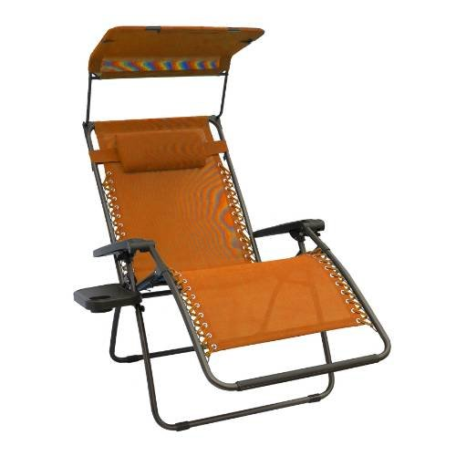 Outdoor Recliner with Canopy