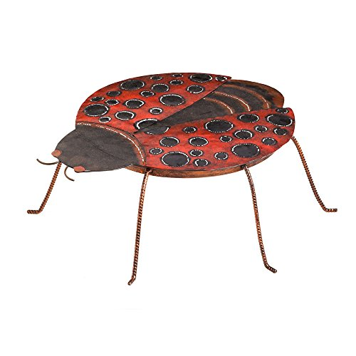 Cute Lady Bug Shape Metal Table