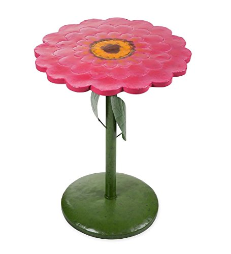 Cute Metal Flower Side Table