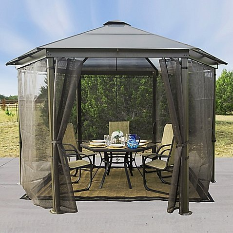 Spacious Hard Top Gazebo