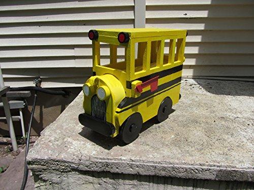 Yellow School Bus Mailbox