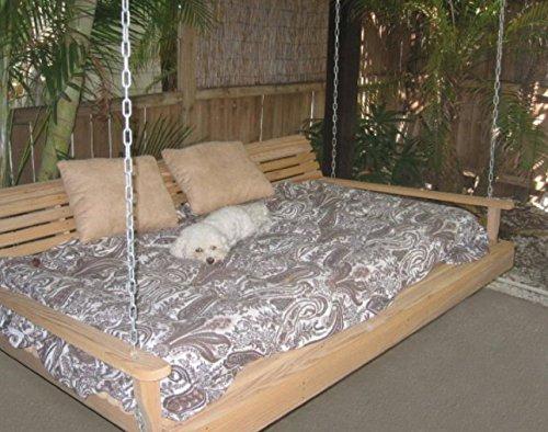Heavy Duty Cypress Porch SWING BED