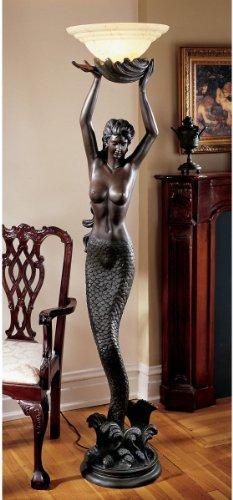 Mermaid Sculptural Floor Lamp