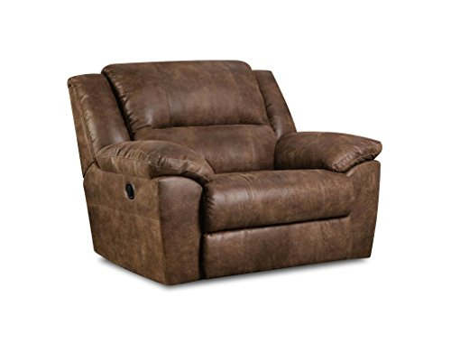 Large Mocha Cuddler Recliner
