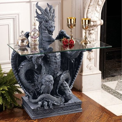 Dragon Glass Table