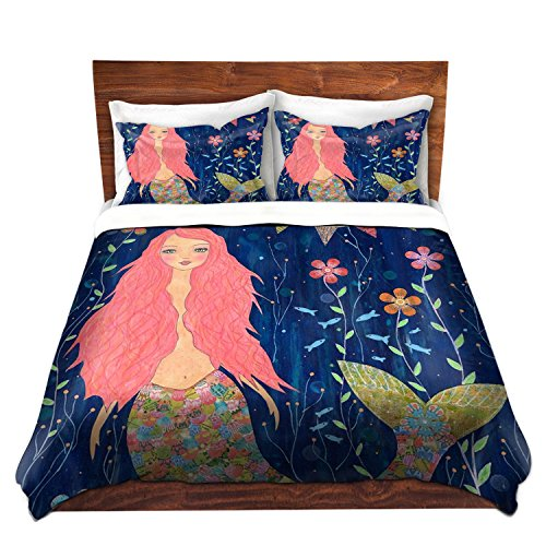 Cute Mermaid Duvet Cover